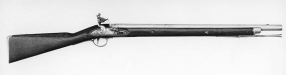 Thumbnail image of Flintlock muzzle-loading military carbine - Pattern 1796 Heavy Dragoon