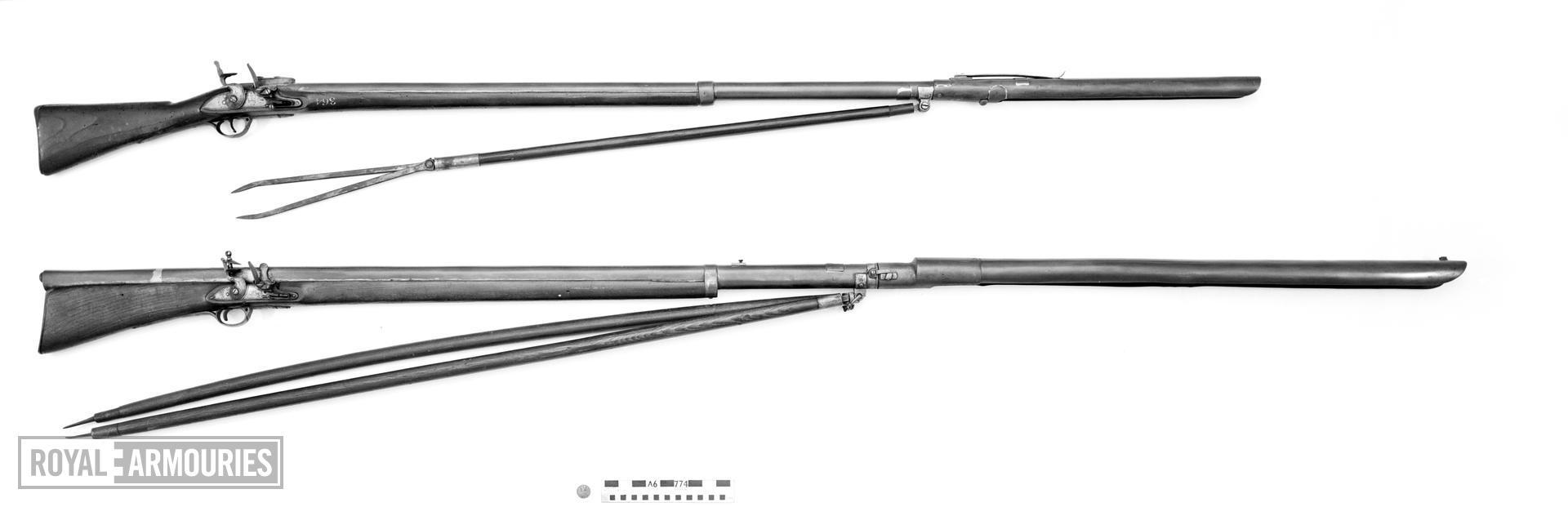 Flintlock rocket launcher - Unknown