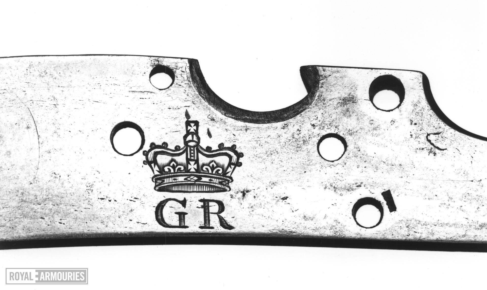 Flintlock muzzle-loading musketoon - Pattern 1704 Sea Service? Probably for Sea Service.