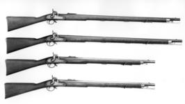 Thumbnail image of Percussion muzzle-loading military rifle-musket - Pattern 1842 Sea Service