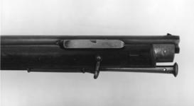 Thumbnail image of Percussion muzzle-loading rifle - Brunswick Rifle Late model