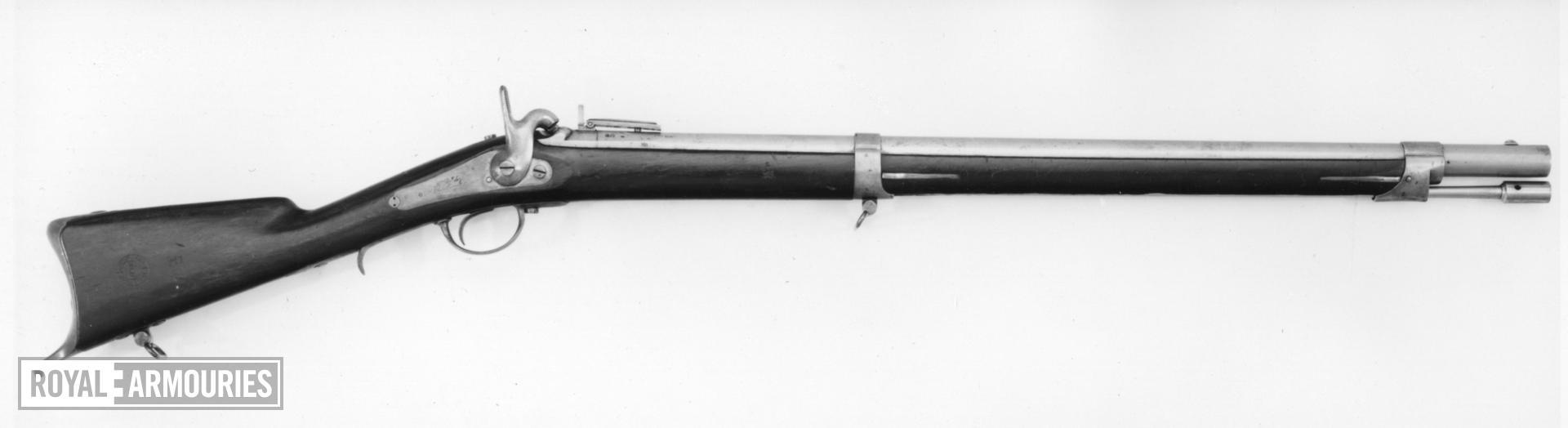 Percussion muzzle-loading military rifle - Model 1840 Light Infantry model