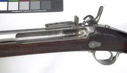 Thumbnail image of Percussion muzzle-loading military rifle - Model 1840 Light Infantry model