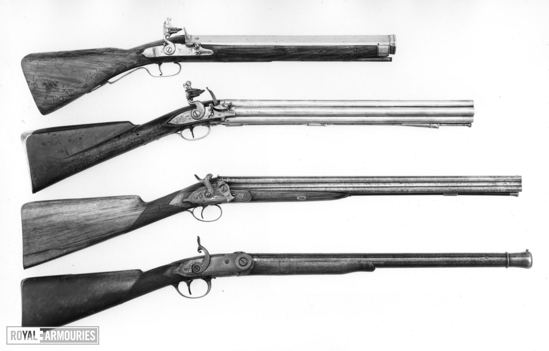 Flintlock military volley gun - Pattern 1780 Nock Volley 1st Model By H. Nock