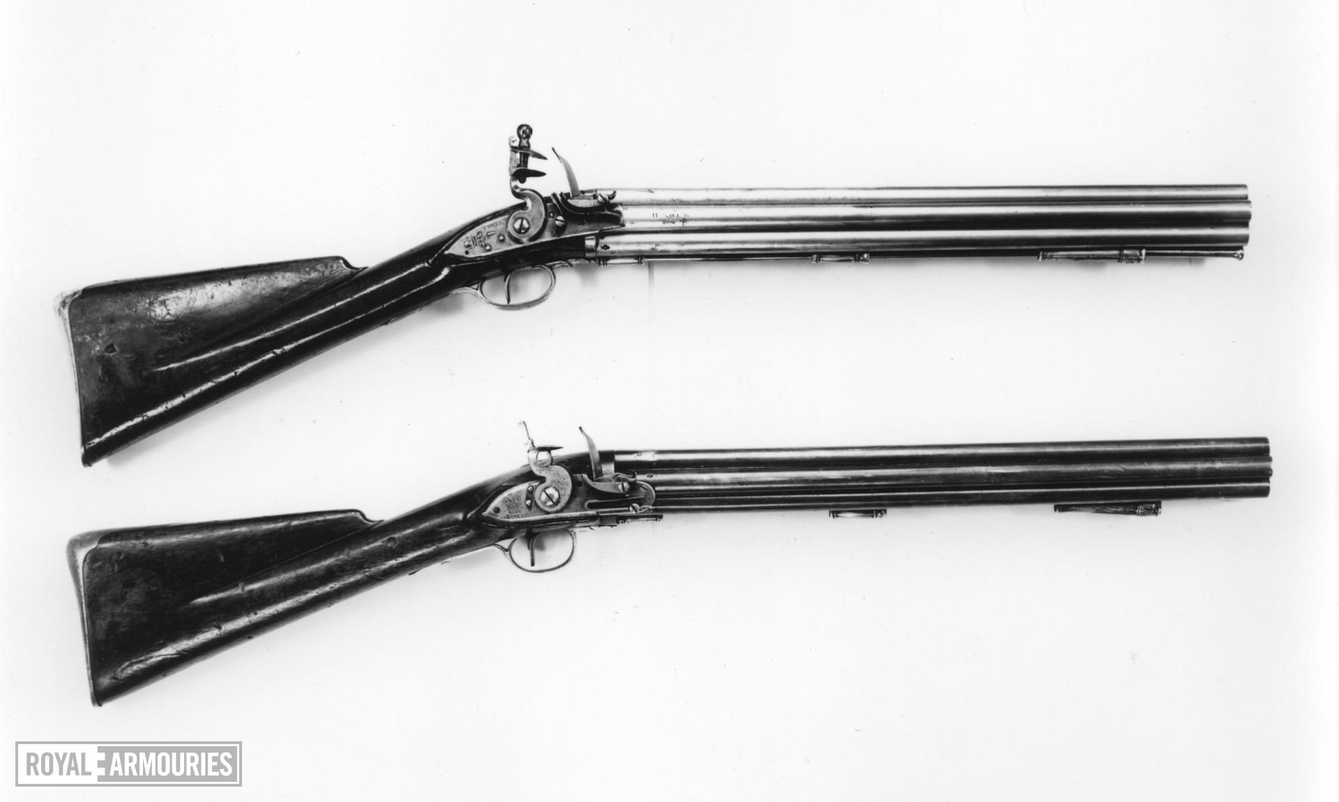Flintlock military volley gun - Pattern 1780 Nock Volley