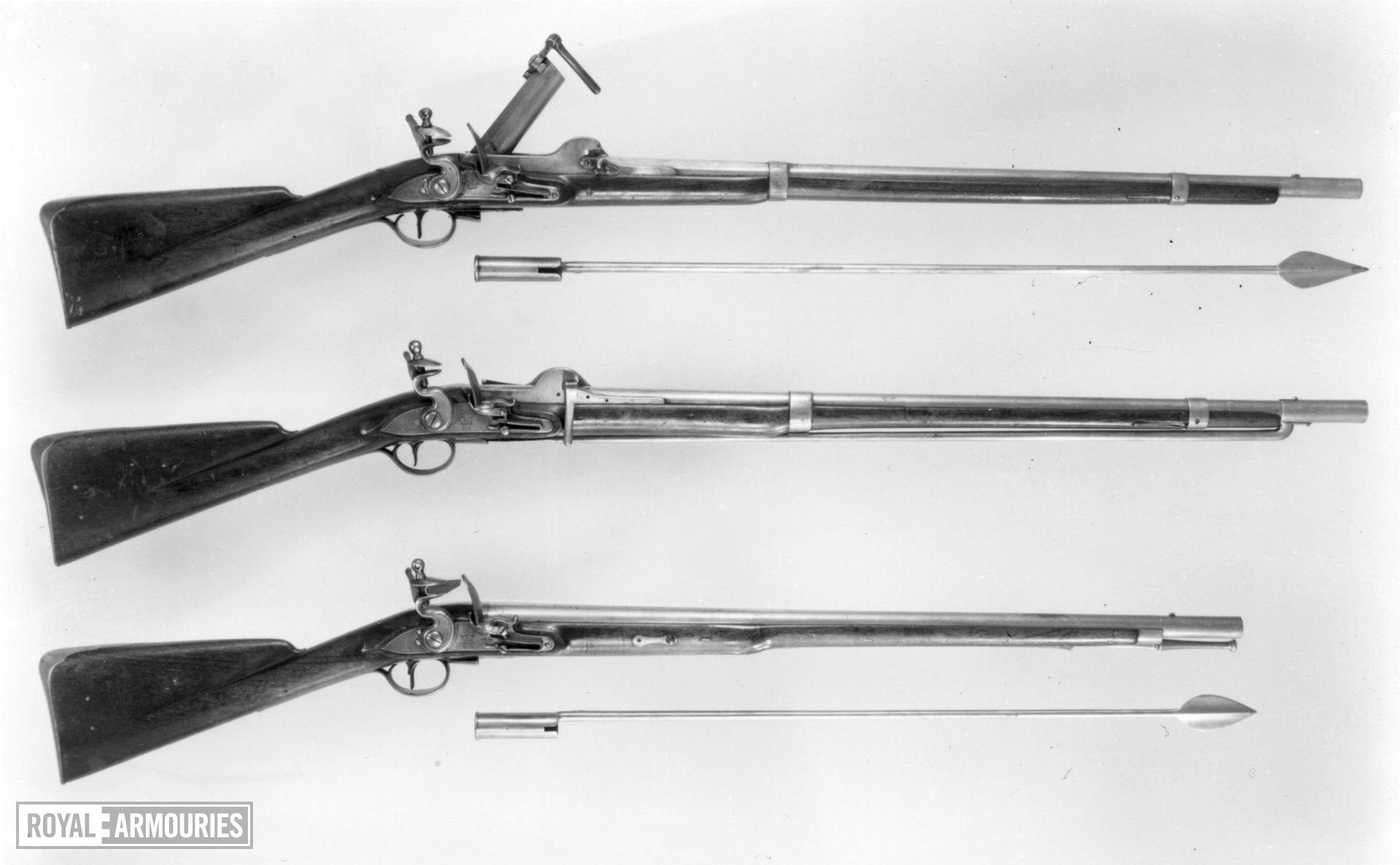Flintlock breech-loading military carbine - Pattern 1785 Egg/Crespi
