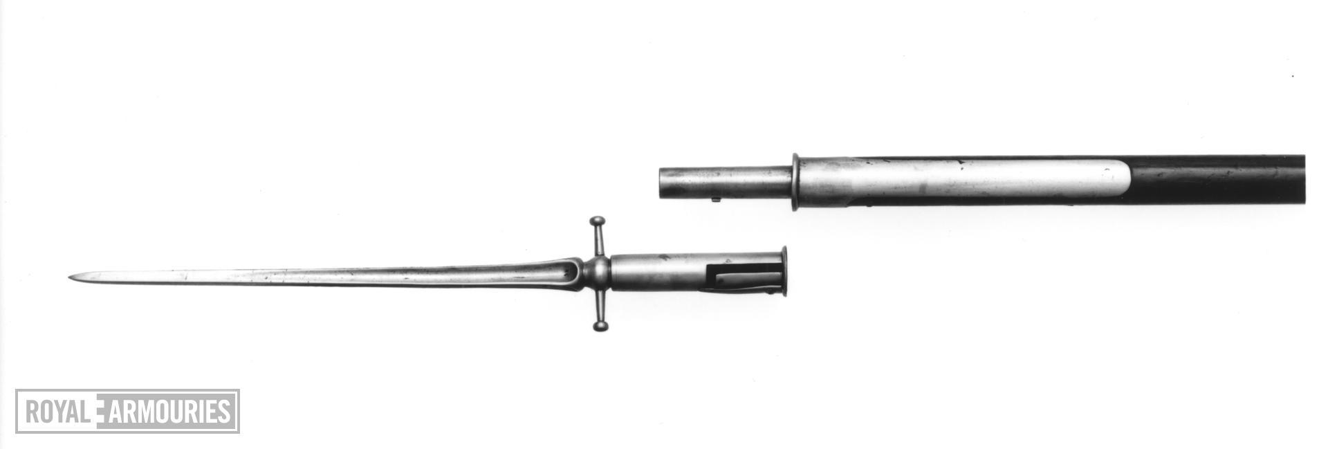 Bayonet Part of Pike Bayonet by Mortimer