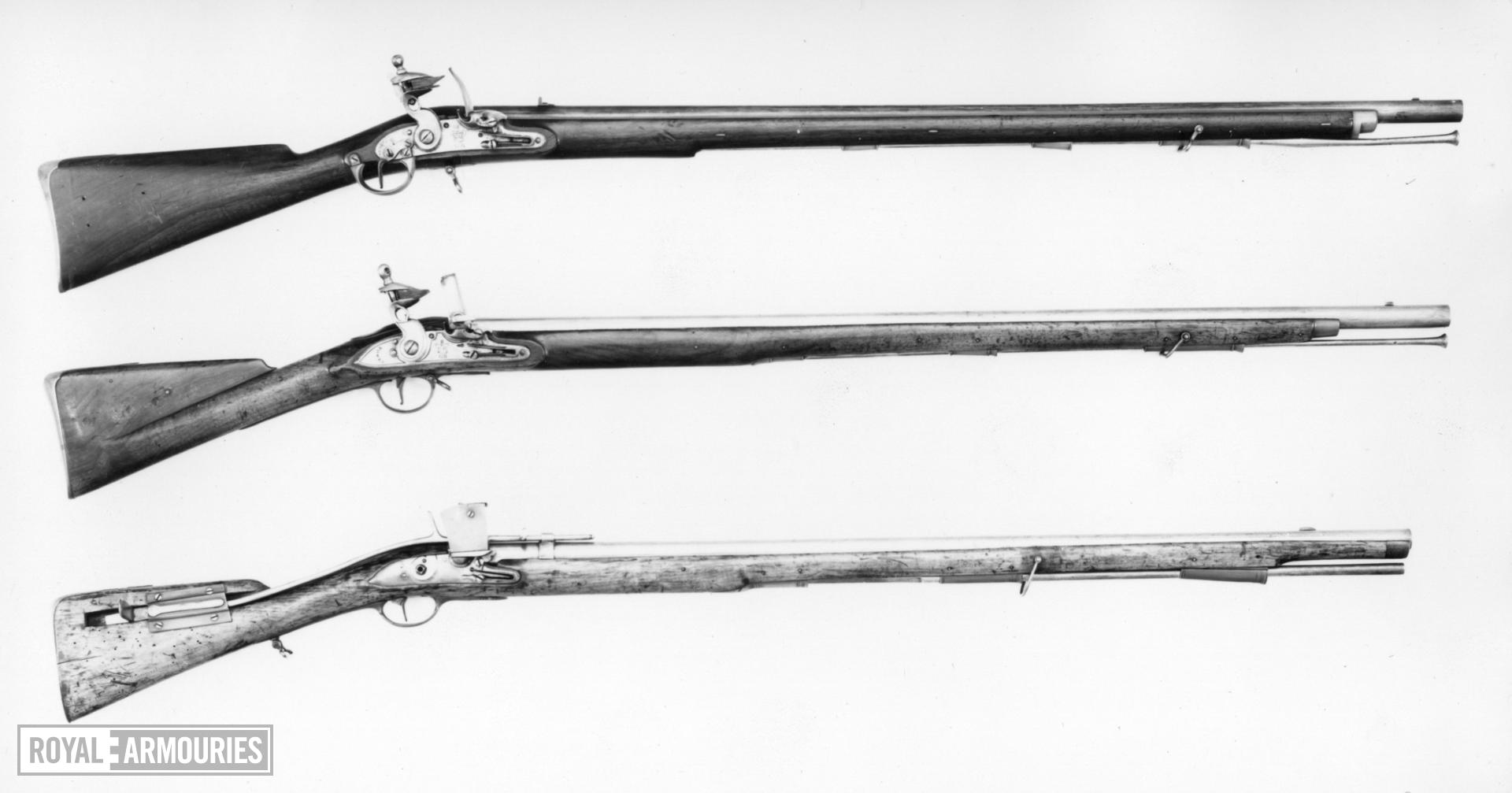 Flintlock military musket - New Land Service Pattern, Experimental Model Special trigger by John Noble, Enfield