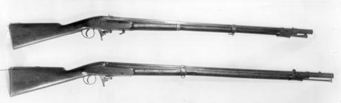 Thumbnail image of Percussion muzzle-loading musket - Heurteloup Musket Heurteloup design of 1836
