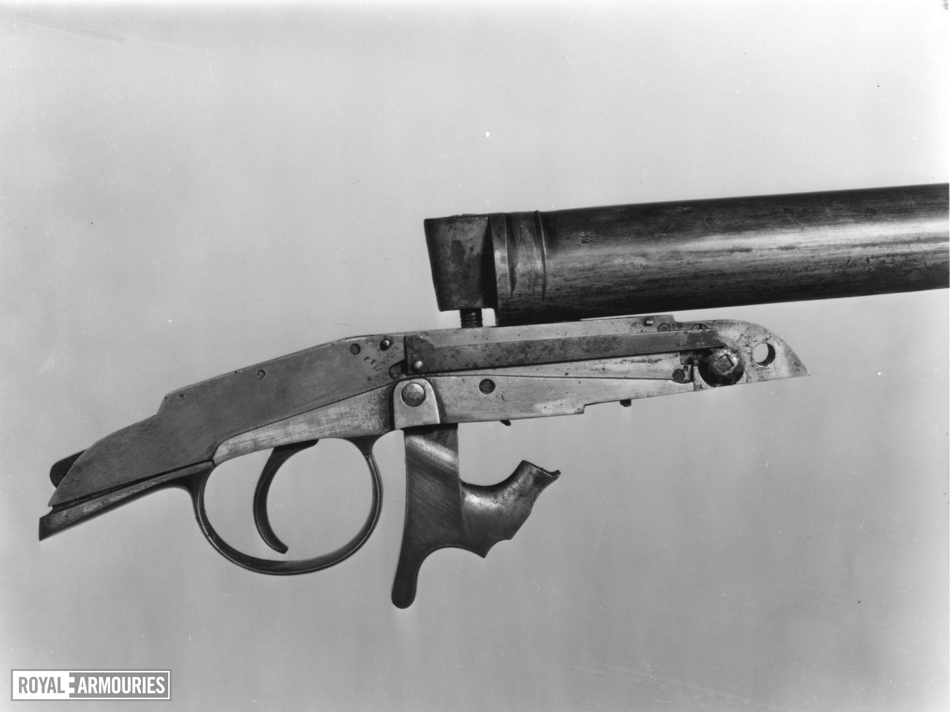 Percussion muzzle-loading musket - Heurteloup Musket Heurteloup design of 1836