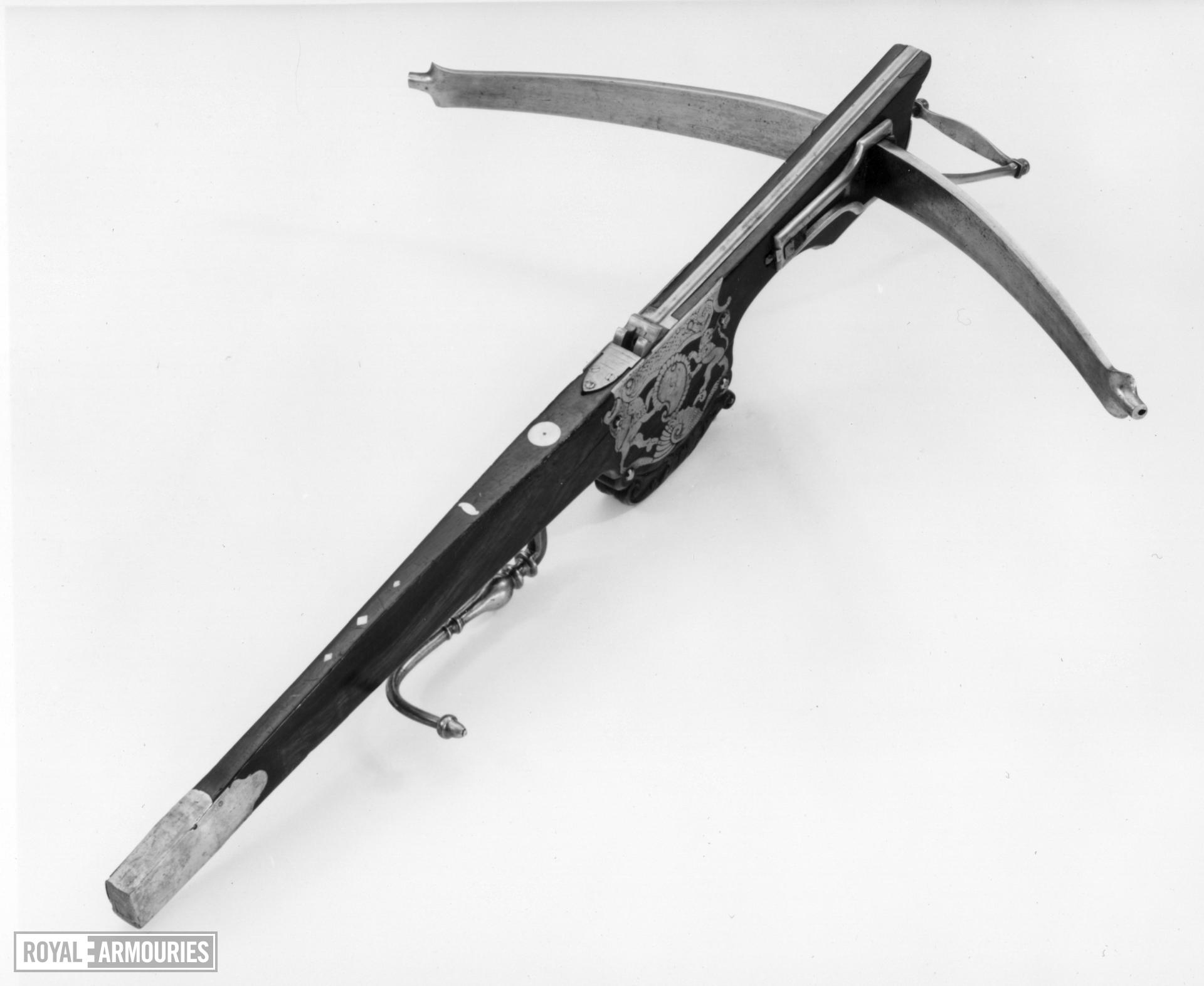 Crossbow Crossbow, for Target and with Windlass