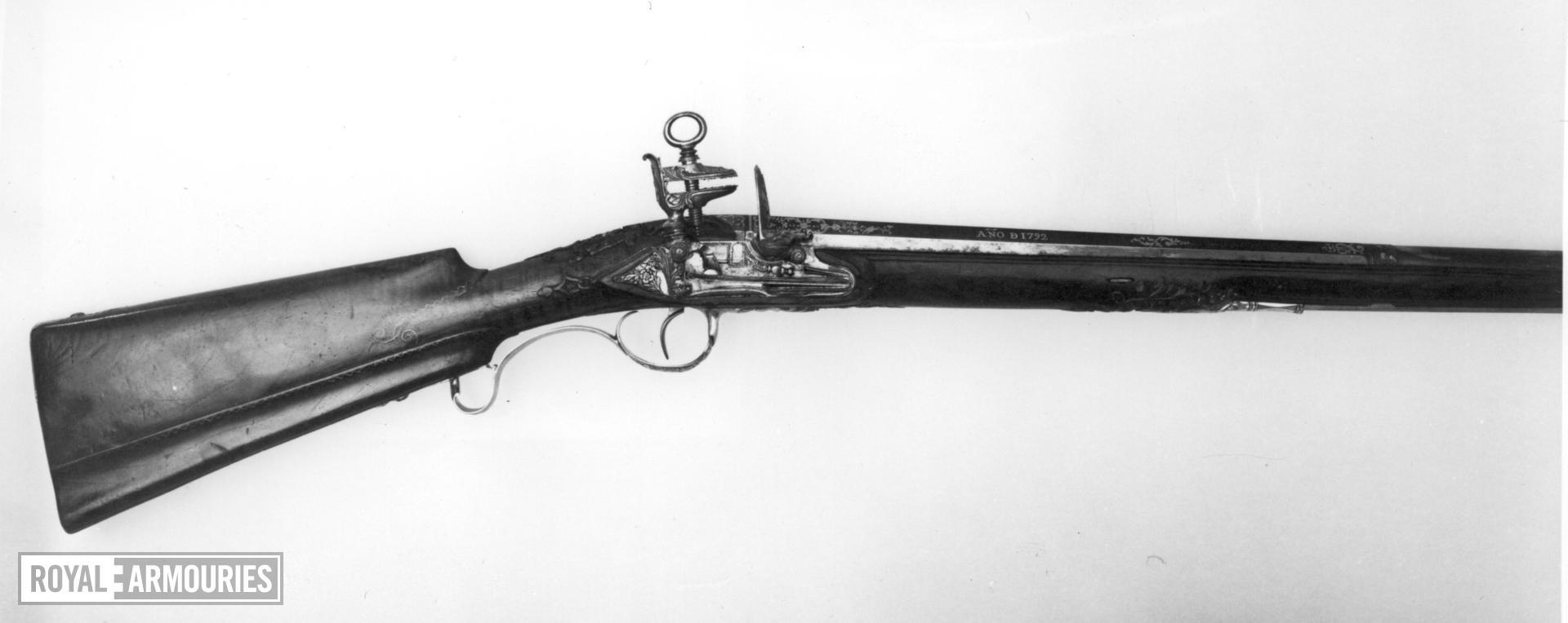 Flintlock gun - By Juan Esteban Bustindui