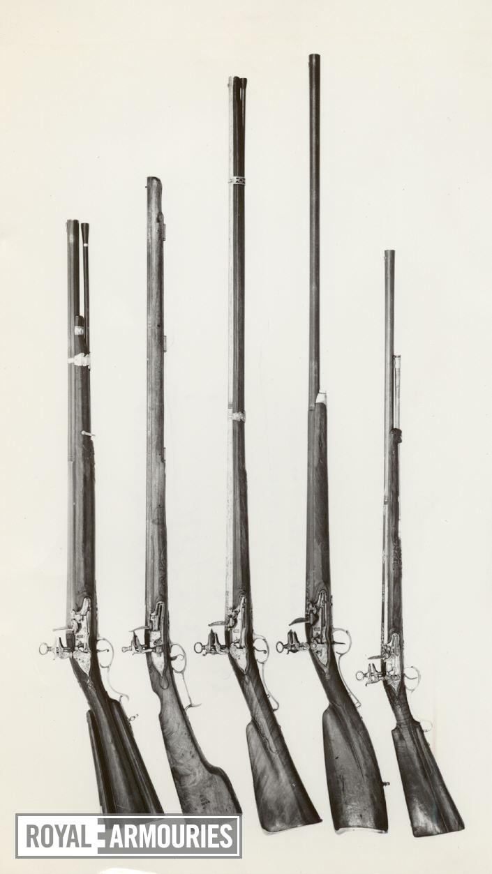 Flintlock gun - By F. Rossi