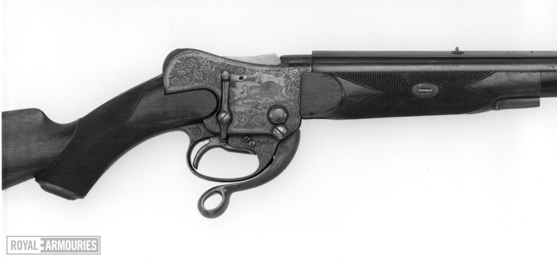 Centrefire underlever breech-loading rifle - Westley Richards Express