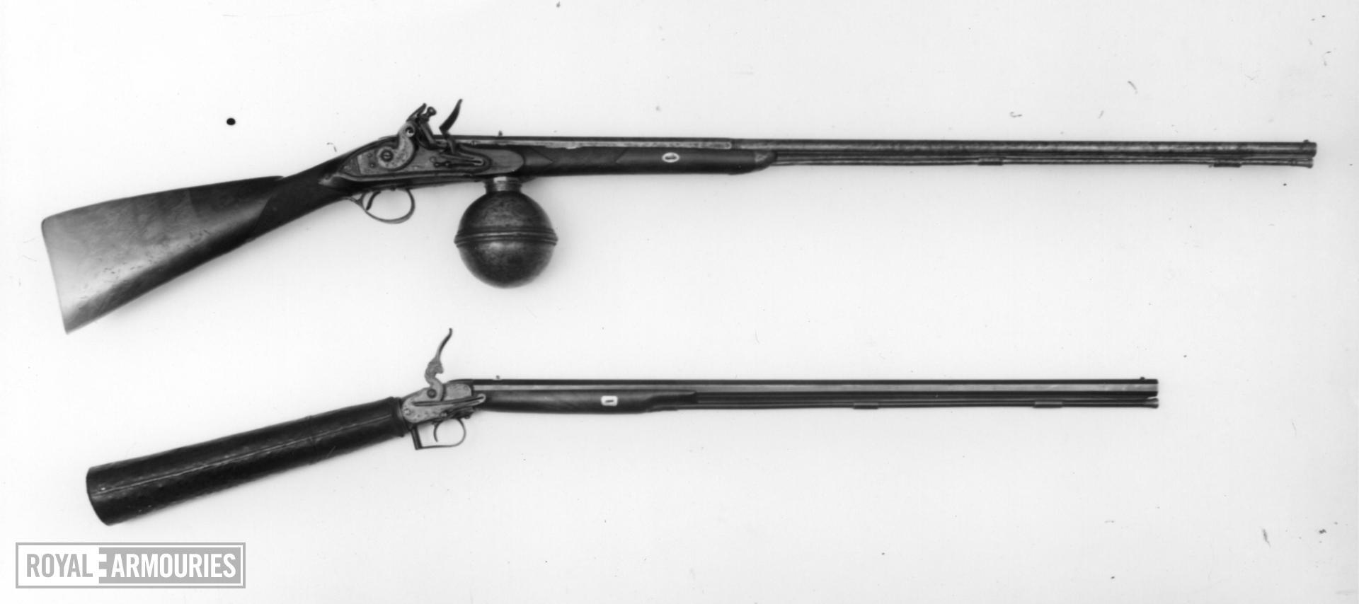 Air rifle - By Wilson By Wilson, Vigo Lane, cased