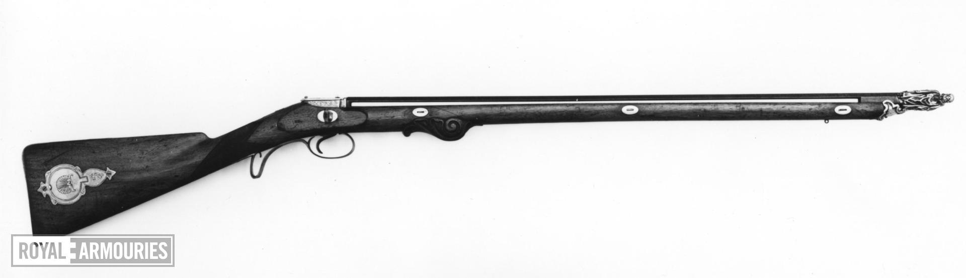 Elastic gun