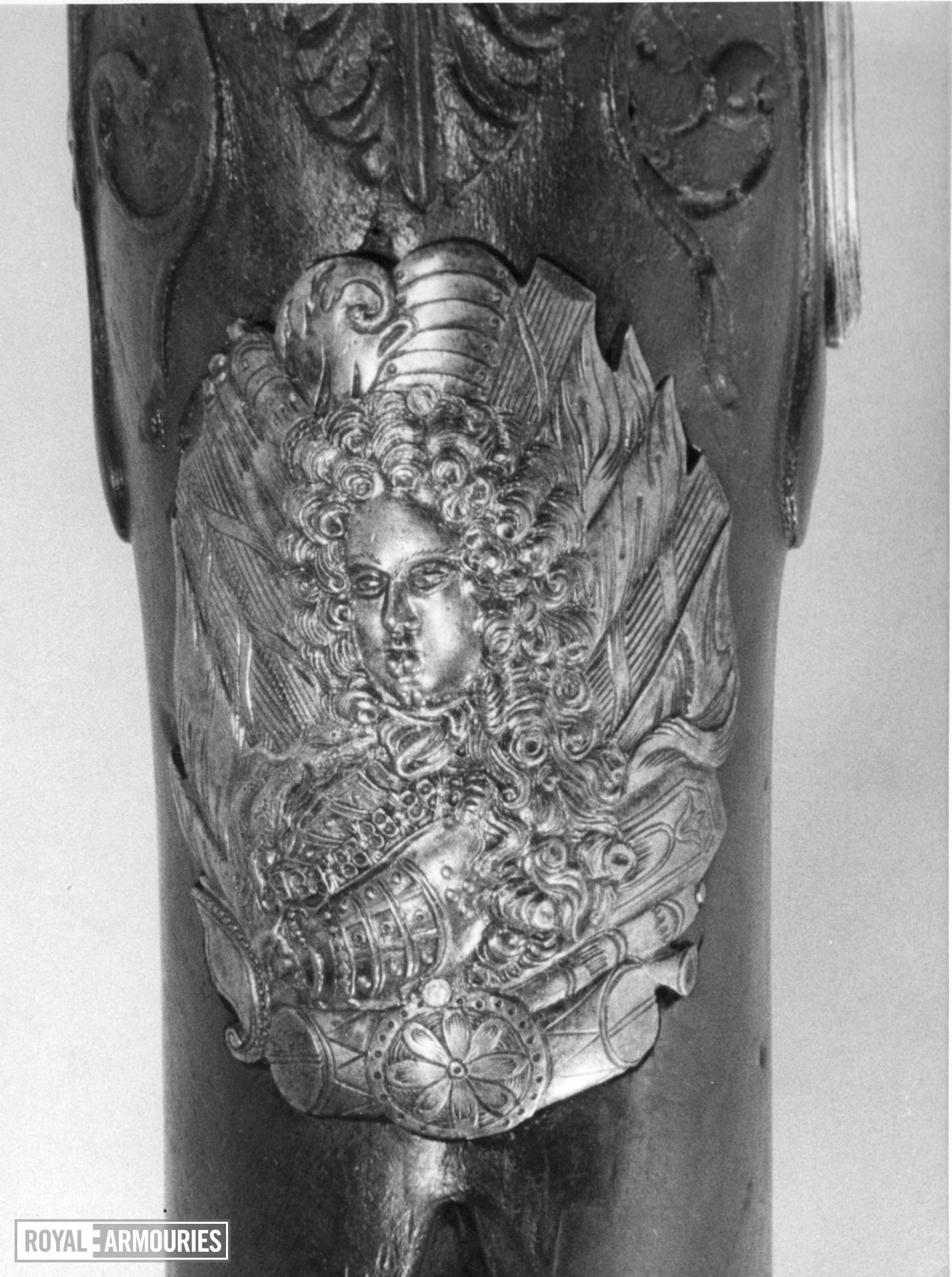 Flintlock muzzle-loading rifle - By Han Hart By Han Hart