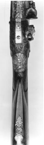 Thumbnail image of Flintlock muzzle-loading rifle - By Han Hart By Han Hart