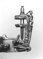 Thumbnail image of Detached wheellock lock From a large sporting gun