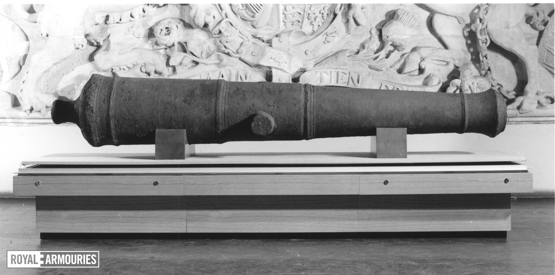 4.5 in demi-culverin - The Commonwealth gun The Commonwealth gun