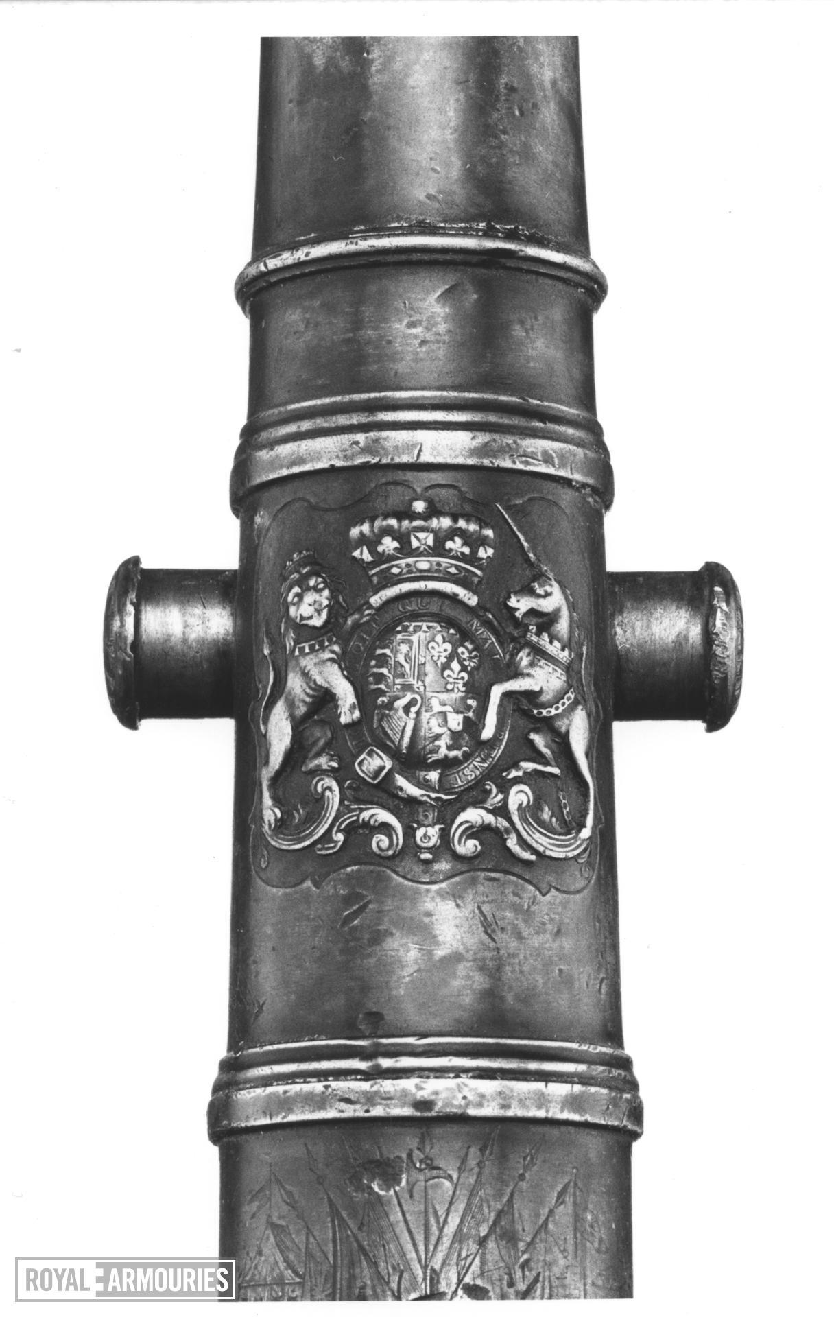 Miniature bronze gun - By W. Shepherd