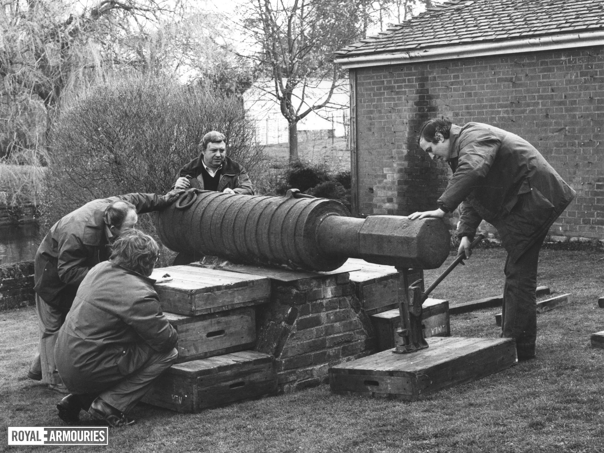 13 in Bombard - The Boxted Bombard Made of Iron