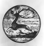 Thumbnail image of Artistic target Modern copy of an 18th century Schutzen target