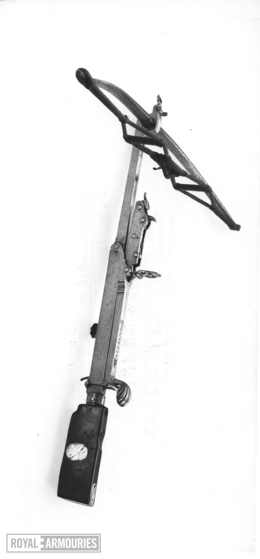 Crossbow Bullet crossbow by Moritz Sam