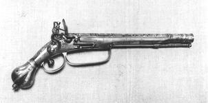 Thumbnail image of Flintlock pistol By John Burges
