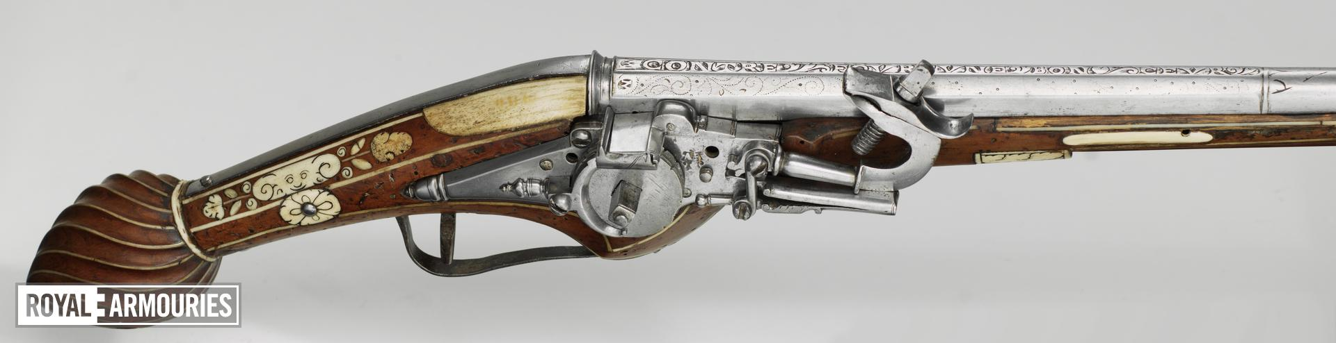 Wheellock holster pistol Possibly by GMM