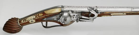 Thumbnail image of Wheellock holster pistol Possibly by GMM