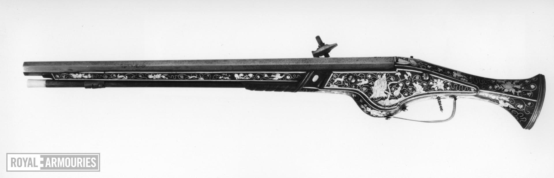 Wheellock holster pistol Possibly by Moritz Fluckiger