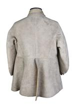 Thumbnail image of Buff coat with wide overlapping front skirt panels, believed to have belonged to Sir John Gell III.4593