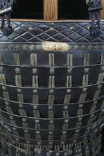 Thumbnail image of Armour (mogami haramaki gusoku) of a member of the Shimazu family. XXVIA.2