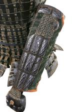 Thumbnail image of Armour (mogami haramaki gusoku) of a member of the Shimazu family. XXVIA.2