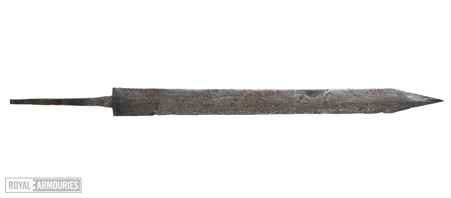 Gladius and scabbard mounts of the 'Pompeii type', from the Alex Guttmann Collection. IX.5583