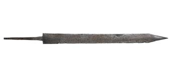 Thumbnail image of Gladius and scabbard mounts of the 'Pompeii type', from the Alex Guttmann Collection. IX.5583