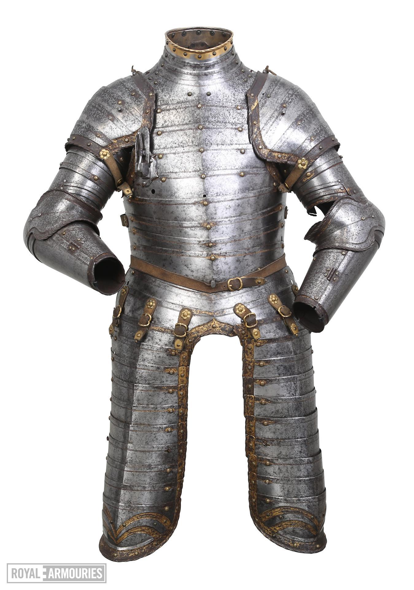 Three-quarter armour for a boy of about twelve years old, possibly Edward VI. II.178