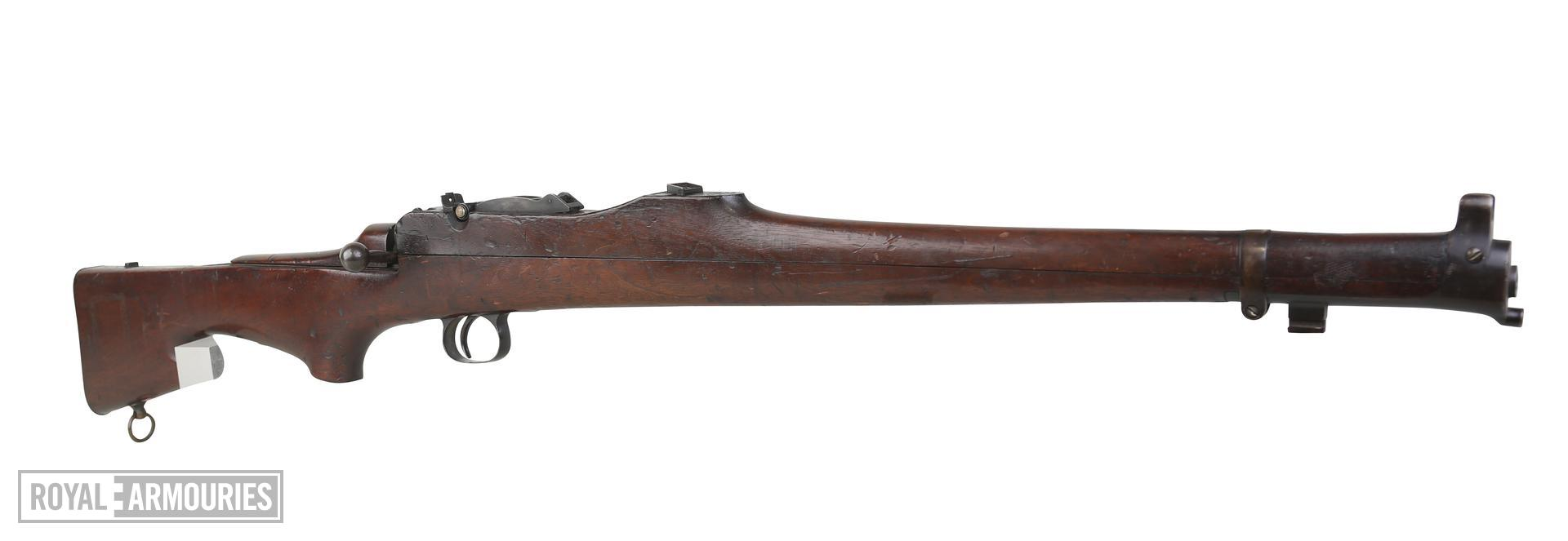 Centrefire bolt-action rifle - Thorneycroft Third Pattern Model 1906