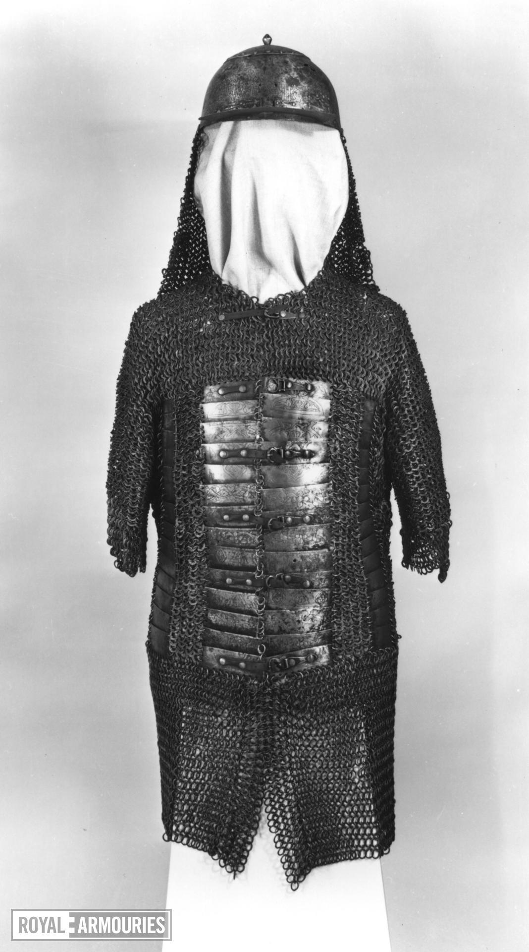 Mail and plate coat (zirh gomlek)