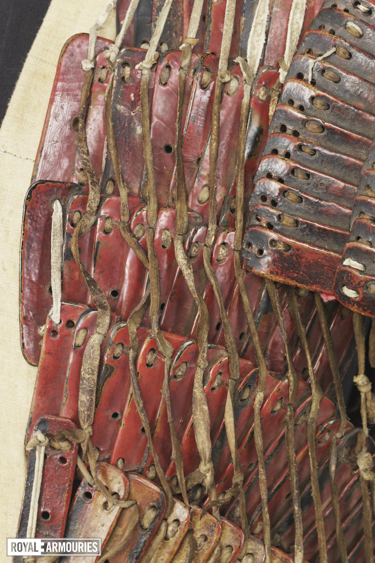 Lamellar armour and helmet Lamellar armour and helmet