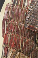 Thumbnail image of Lamellar armour and helmet Lamellar armour and helmet