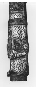 Thumbnail image of Matchlock musket (toradar) with chiseled barrel.