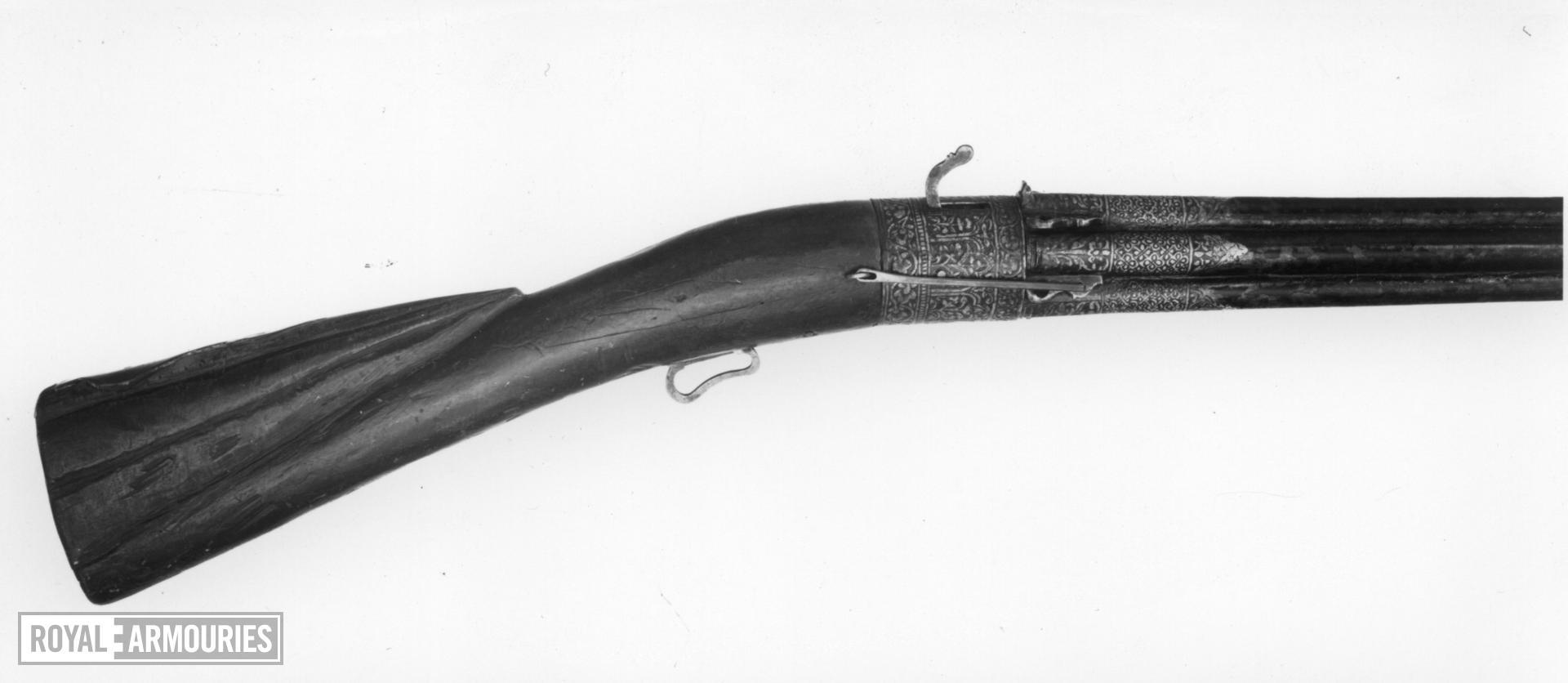 Matchlock revolver
