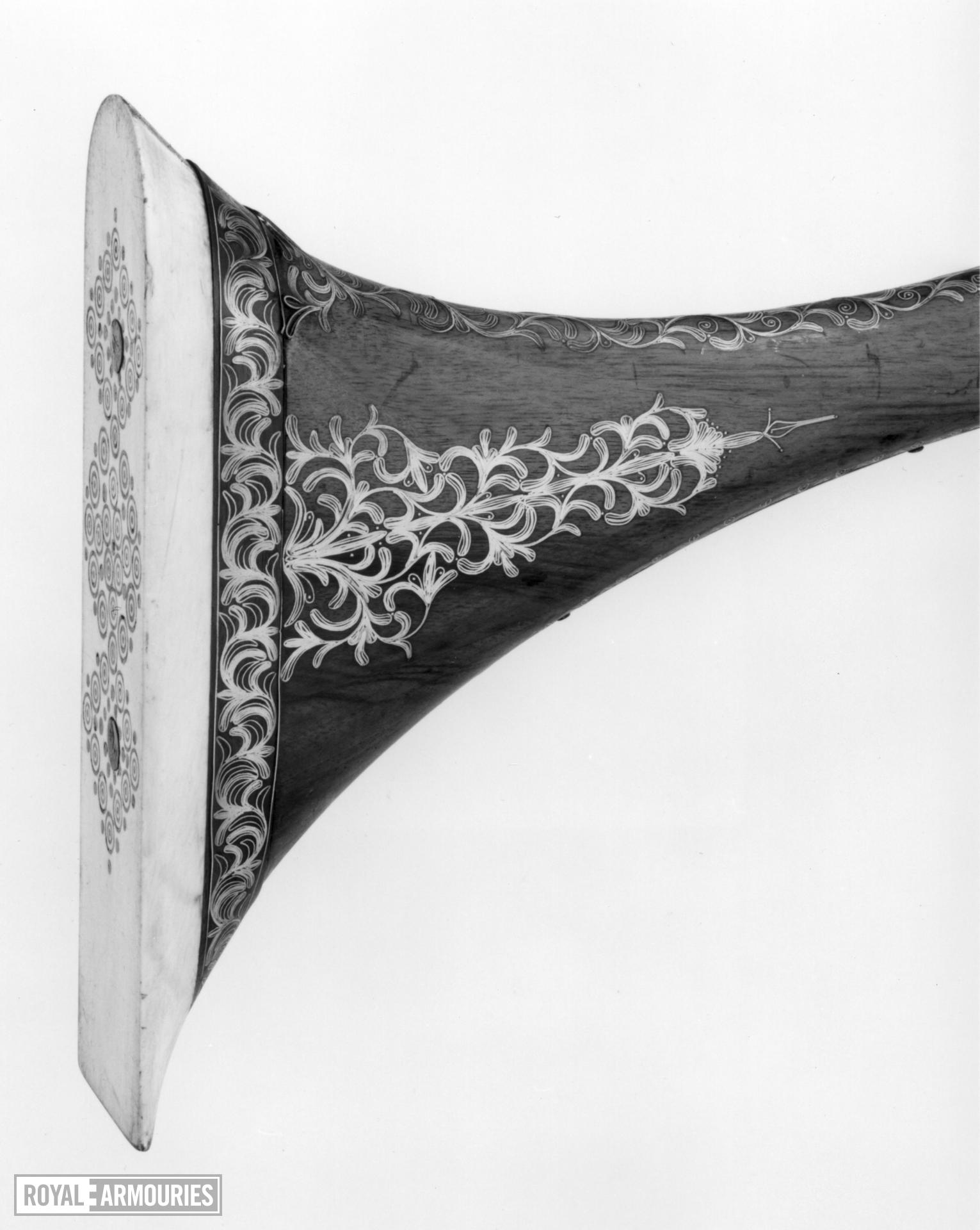 Snaphaunce sporting gun (mukhala) by tradition of the Viceroy of Tetuan