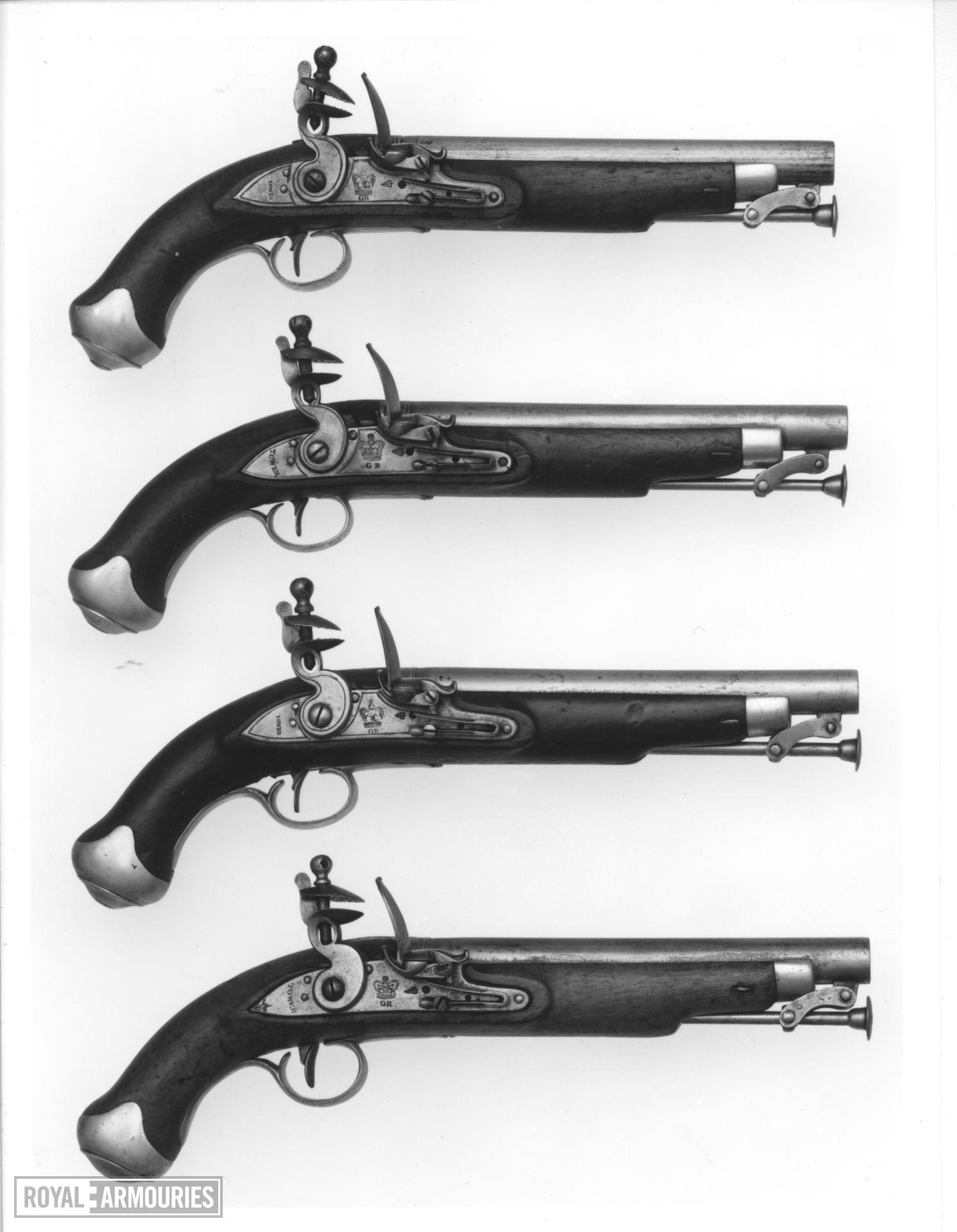 Flintlock military pistol - New Land Pattern