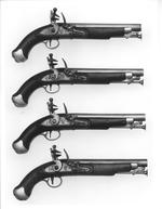 Thumbnail image of Flintlock military pistol - New Land Pattern