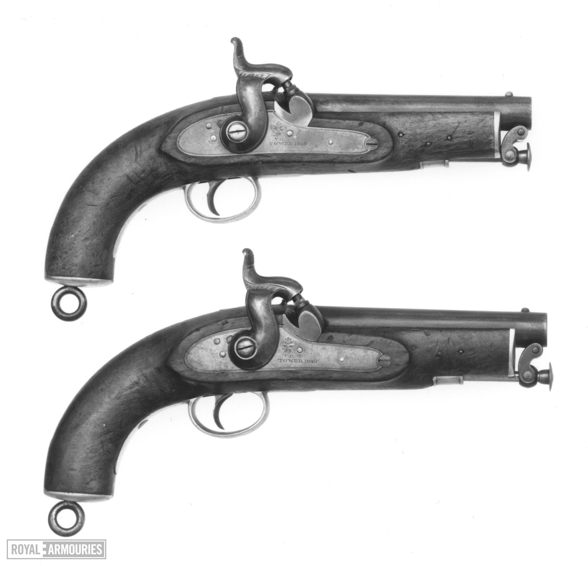 Percussion military pistol - Pattern 1841 Sea Service