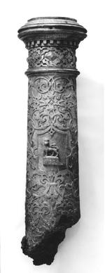 Thumbnail image of 2.7 in Gun - Falcon Partial remains Remains of barrel dated 1608 Made of bronze             _