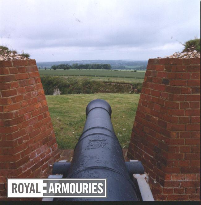 24 pr gun Made of iron